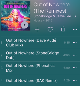 Jamie Lee Wilson, Apple Music, Out of Nowhere