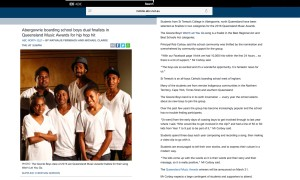 ABC Gowrie Boys Article Feb 11th 2016 - http-::mobile.abc.net.au:news:2016-02-12:gowrie-boys-nomination-queensland-music-awards:7161230